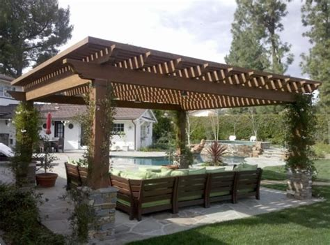 Pergola Covered Patio pergola and patio cover agoura ca photo gallery landscaping network