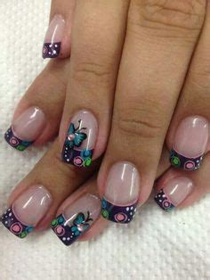imagenes de uñas decoradas franses google and b 250 squeda on pinterest