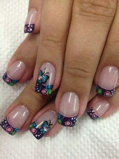 imagenes de uñas pintadas frances google and b 250 squeda on pinterest