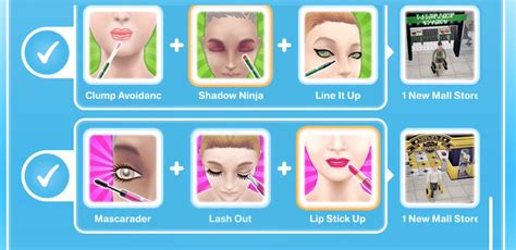 Play Store Like Sims Sims Freeplay Make Up Artist Hobby Glitz And Glam