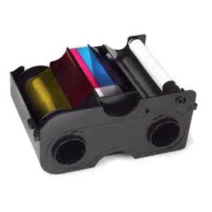 Ribbon Colour For Printer Dtc1250e Ymcko 45500 fargo dtc1250e card printer ribbon ymcko