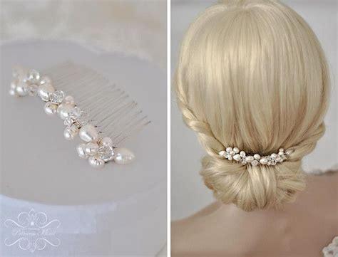 Braut Perlen by Braut Haarschmuck Echte Perlen Haarkamm Hochzeit S Mehr