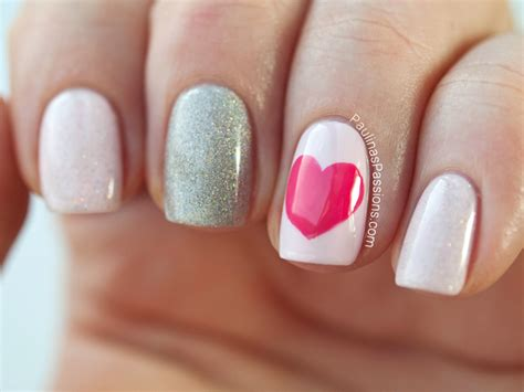 easy valentines nails easy nails