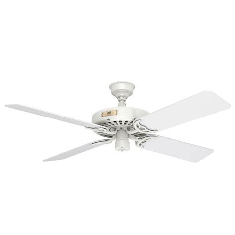 hunter ceiling fans without lights hunter fan company original white ceiling fan without