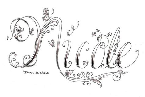 design my own tattoo lettering design by a fonts