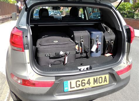 Kia Sportage Boot Capacity Litres Uk Road Trip Increased My For The Wheels Ca