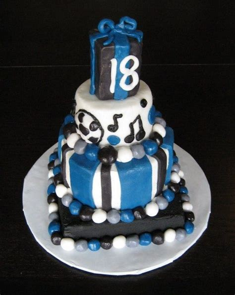 ideas 18 year boy birthday cake for guys birthday cake 18 year