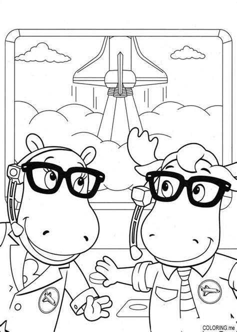 nick jr backyardigans coloring pages coloring page the backyardigans tasha and uniqua