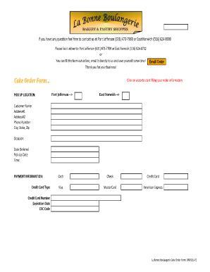 printable cake order forms cake order forms printable fill online printable