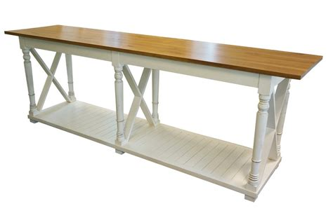 white farmhouse console table farmhouse style country rustic cross white console table