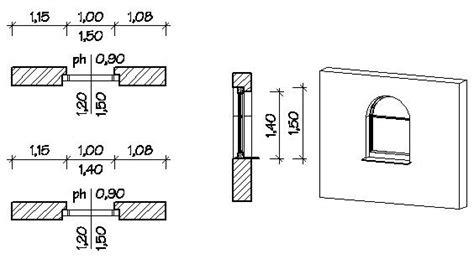 altezza davanzale finestra strumenti architettura gt propriet 192 entit 192 gt infissi