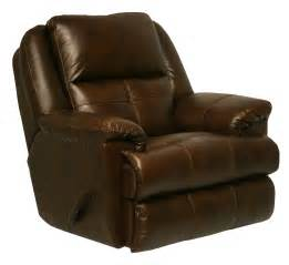 Leather Recliner Catnapper Crosby Leather Recliner By Oj Commerce 829 00