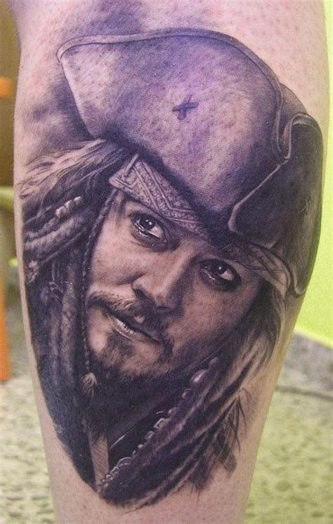 pinterest tattoo portrait very smooth photo realistic tattoo portrait of captain