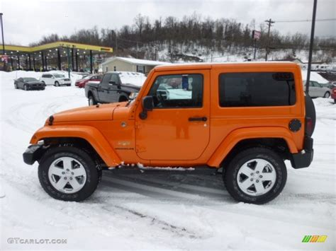 jeep wrangler orange crush crush orange 2012 jeep wrangler sahara 4x4 exterior photo