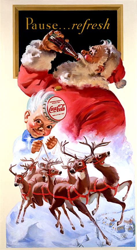 Coca Cola Santa Claus 4797 by History Was The Modern Santa Claus Created By Cocacola