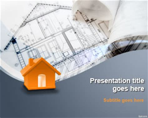 free construction project planning powerpoint template