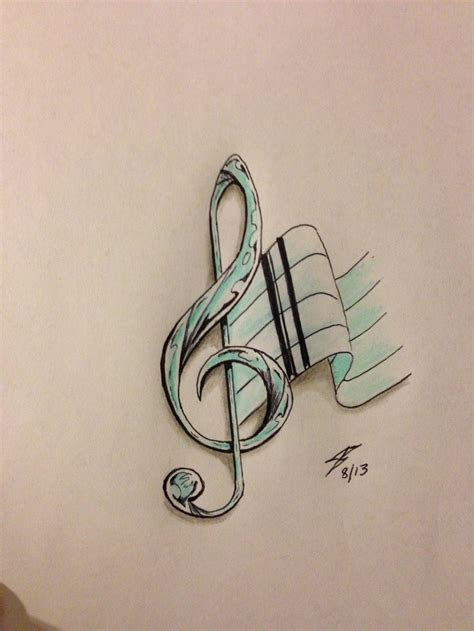 music notes with stars tattoo designs note design by coyote117 on deviantart