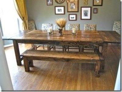 build a rustic dining room table diy farmhouse table plans love this for my backyard