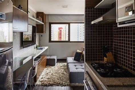 kitnet decorada cozinha americana kitnet de 30 m 178 se molda 192 s necessidades dos moradores
