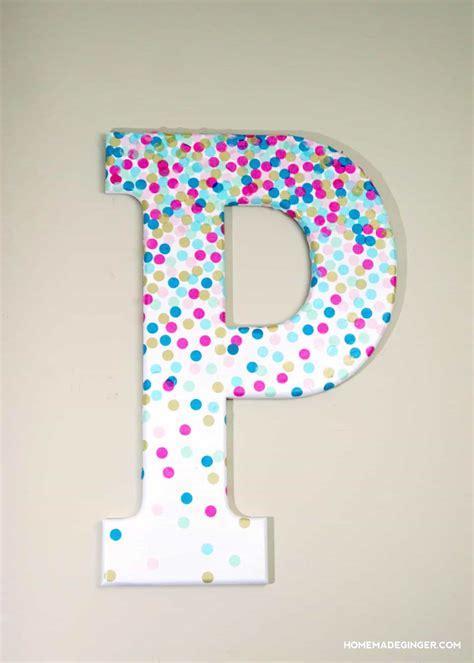 letter s home decor confetti decorative letters for wall decor mod podge rocks