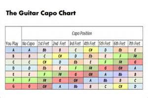 Sample capo charts 9 free documents in pdf