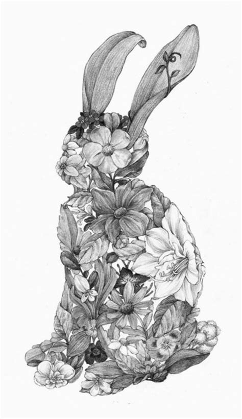 rabbit tattoo pen video 170 best art zentangle animals images on pinterest