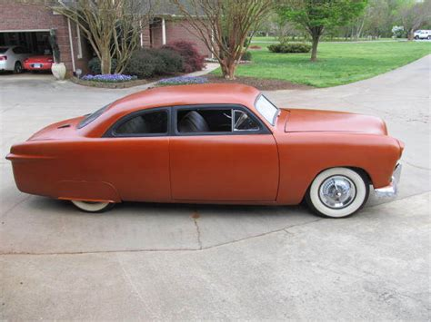 1950 ford custom rod shoebox chopped rat rod for sale