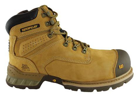 caterpillar work boots for caterpillar brakeman 6 quot side zip steel toe work safety