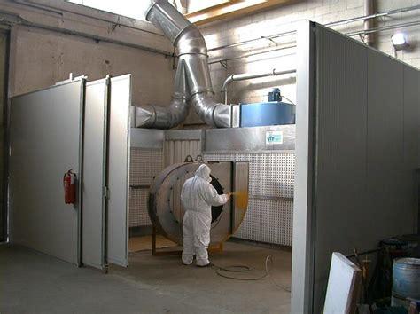 cabina di verniciatura a secco cabine di verniciatura torino novavit torino