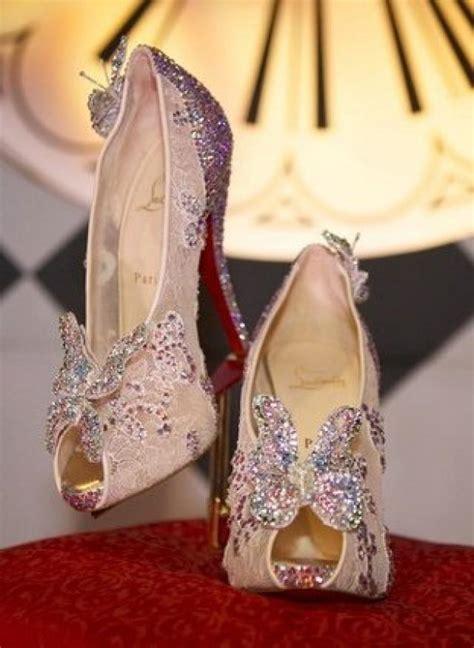 louboutin glass slipper christian louboutin makes some cinderella slippers