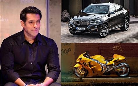 mercedes bicycle salman khan richest actors in bollywood with their bikes and cars