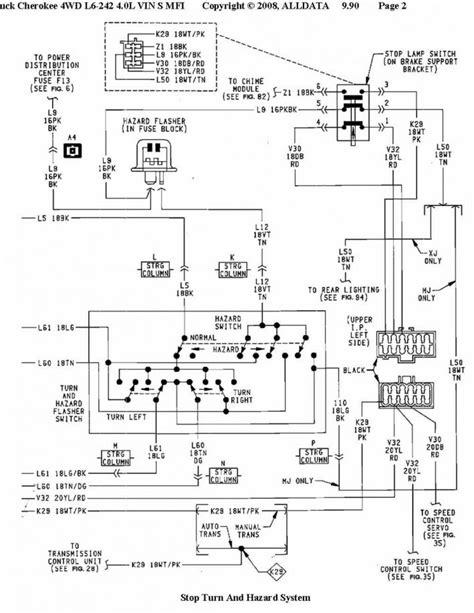 2000 Jeep Light Wiring Diagram
