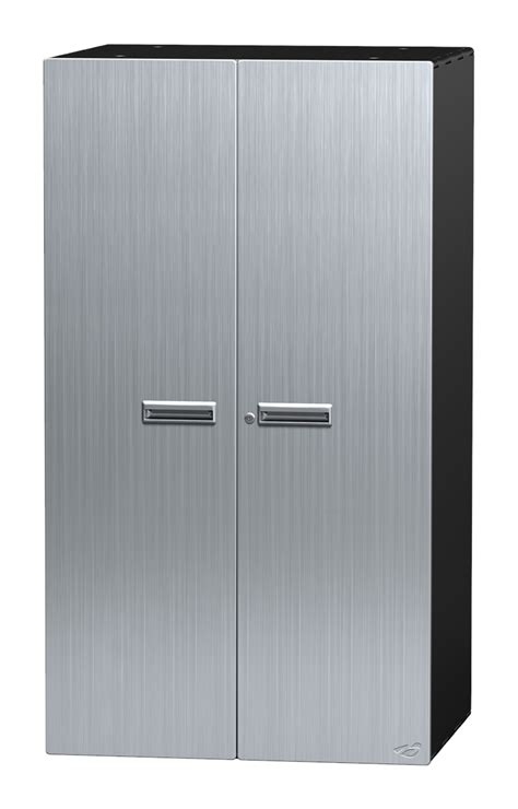 Metal Storage Cabinet With Doors Metal Storage Two Door Cabinet Cabinet Doors