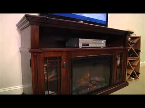 chimneyfree wallace 26 quot entertainment center in empire