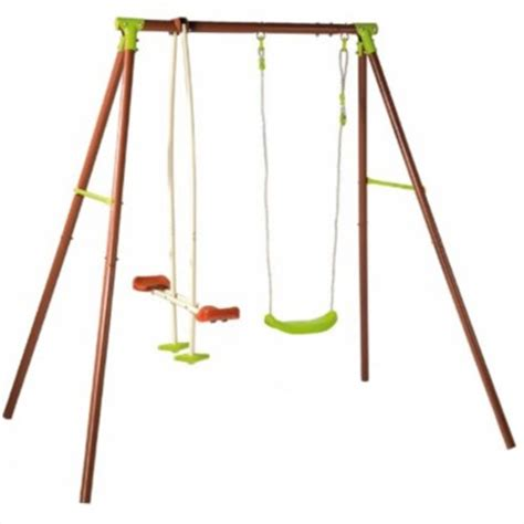 see saw swing swings slides quot play guard quot swing see saw set was