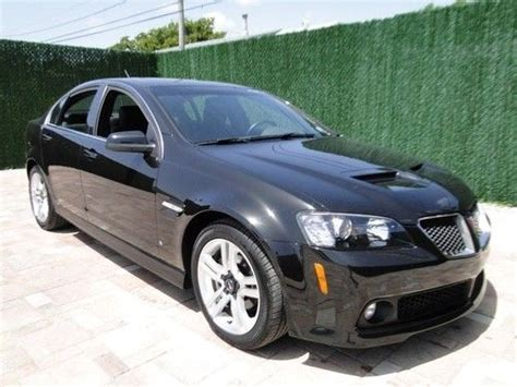 pontiac g8 for sale by owner buy used 2009 pontiac g8 certified one owner sunroof