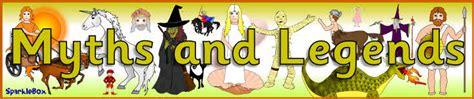 myths  legends display banner sb sparklebox