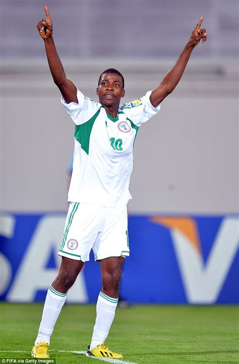 Amuneke Goal by Kelechi Iheanacho Of Nigeria Catches Arsenal Scout S Eye