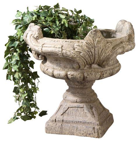 Uttermost Planters Uttermost Elske Planter Contemporary Indoor Pots