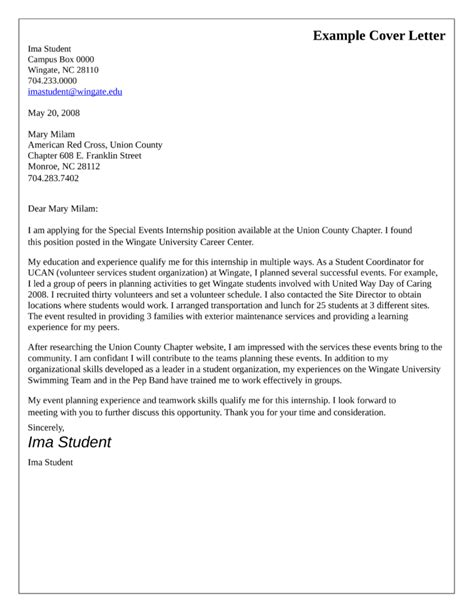 Cover Letter For Event Coordinator by Special Event Coordinator Cover Letter Sles And Templates