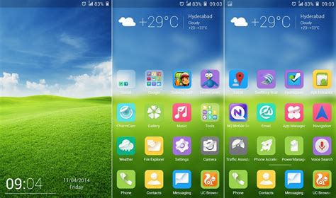 themes for android gionee gionee elife e7 ota update new theme touchpal keyboard