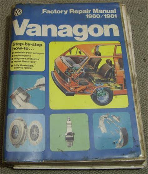 Vw T3 Vanagon Vanagon Factory Repair Manual