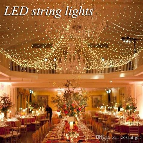 wedding decorations outdoor indoor festival string lights