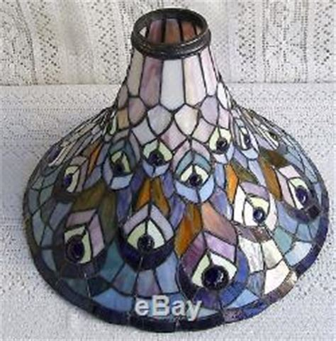 stained glass torchiere l shades vintage tiffany style torchiere stained glass l shade 321
