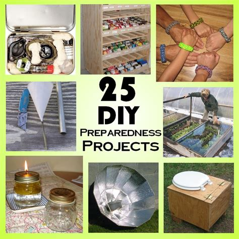 dyi projects 25 diy survival projects to do today or over the weekend