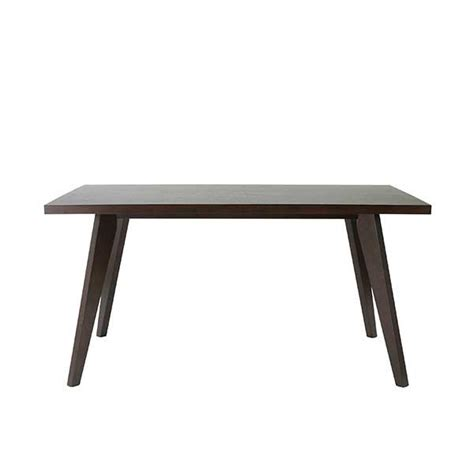 wenge dining table orsin transitional dining