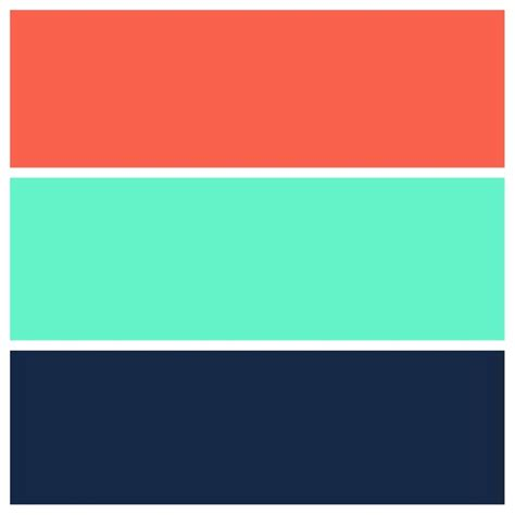 colors that go with green teal navy and coral color scheme for the home