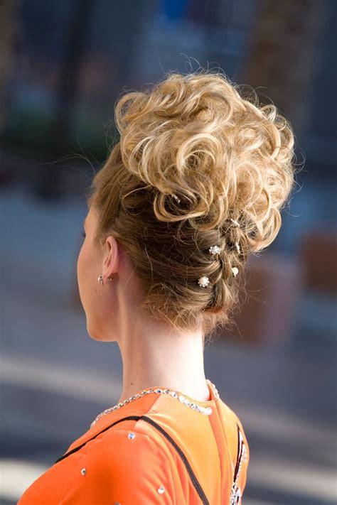 dance small bun with braid hairpiece irish dance bun wig pretty back style irish dance hair