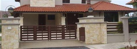 warna cat pagar rumah   tips  rumah tampak