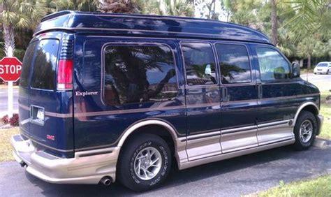 purchase used 2001 gmc savana 1500 base standard passenger van 3 door 5 7l in estero florida